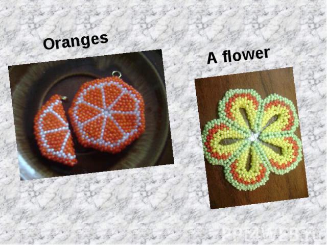 Oranges Oranges