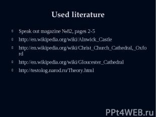 Speak out magazine №82, pages 2-5 Speak out magazine №82, pages 2-5 http://en.wi
