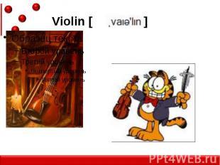 Violin [ ]