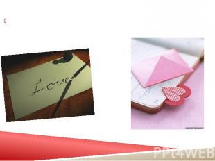 1. Get a beautiful and romantic letter pad with good paper quality. 1. Get a bea