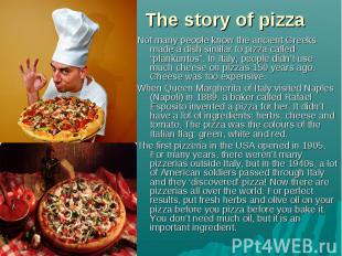 "Not many people know the ancient Greeks made a dish similar to pizza called ""pla"