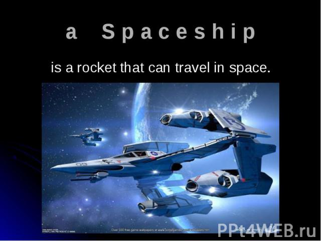 is a rocket that can travel in space. is a rocket that can travel in space.