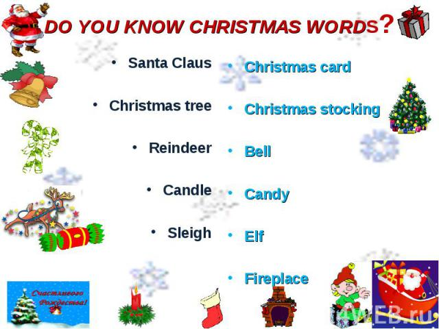 Santa Claus Santa Claus Christmas tree Reindeer Candle Sleigh