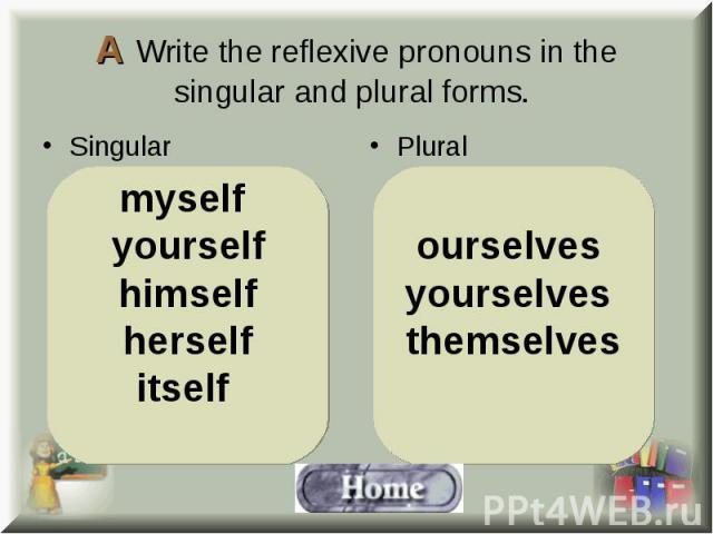Singular Singular