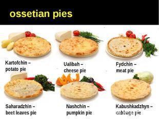 ossetian pies