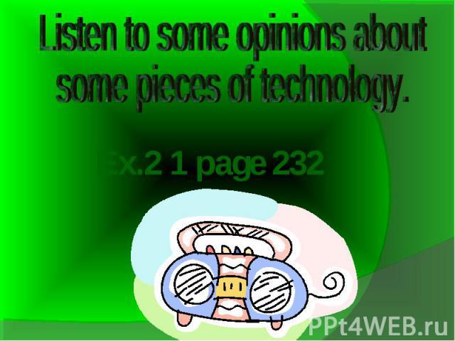 Ex.2 1 page 232
