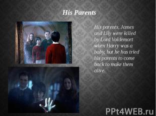 His Parents