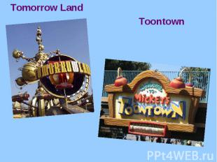 Tomorrow Land Tomorrow Land Toontown