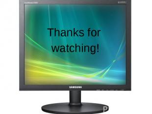 Thanks for Thanks for watching!