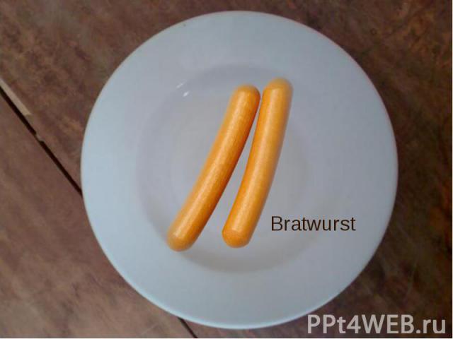 Bratwurst Bratwurst