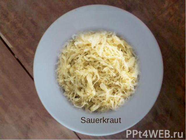 Sauerkraut Sauerkraut
