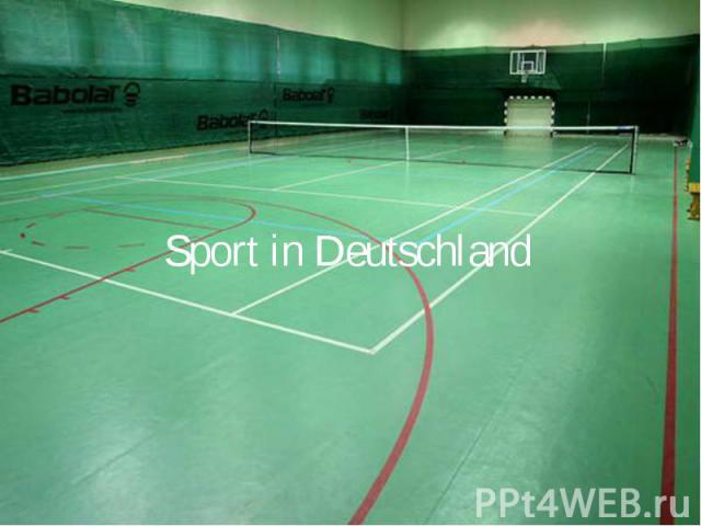 Sport in Deutschland