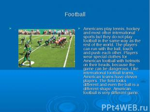 Football .