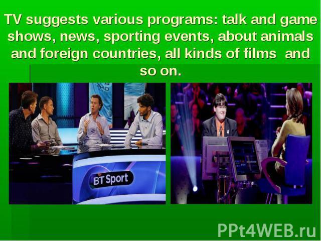 television news essays