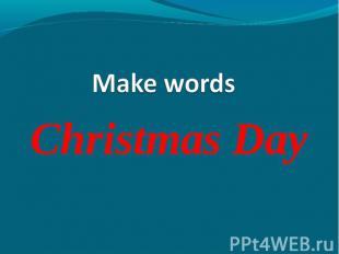 Christmas Day Christmas Day