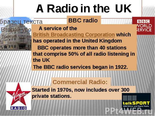 A Radio in the UK