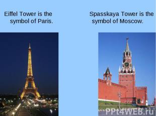 Eiffel Tower is the symbol of Paris. Eiffel Tower is the symbol of Paris.