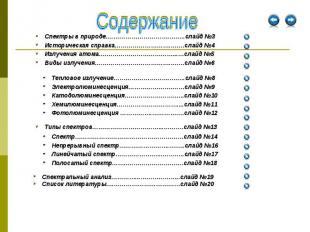Спектральный анализ…………...………………..слайд №19 Спектральный анализ…………...………………..сл