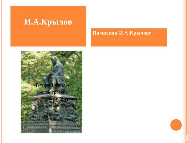 Санкт-Петербург Летний сад.