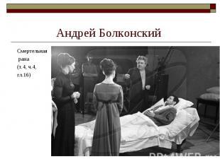 Смертельная Смертельная рана (т.4, ч.4, гл.16)