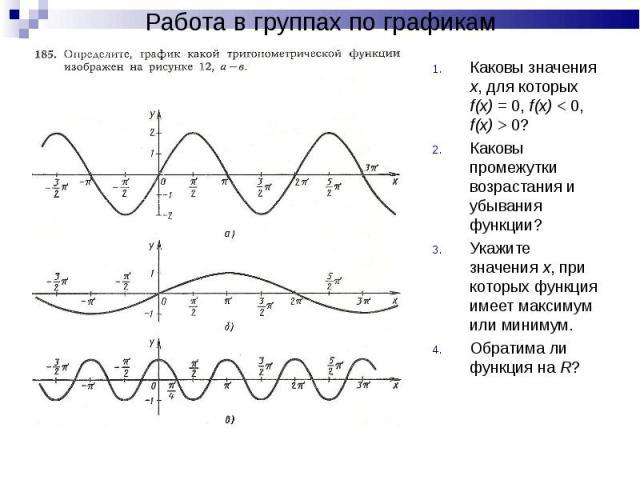 Каковы значения х, для которых f(x) = 0, f(x) < 0, f(x) > 0? Каковы значения х, для которых f(x) = 0, f(x) < 0, f(x) > 0? Каковы промежутки возрастания и убывания функции? Укажите значения х, при которых функция имеет максимум или миниму…