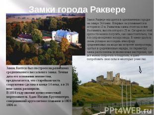 Замки города Раквере