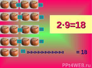 = 18 2+2+2+2+2+2+2+2+2+2+2