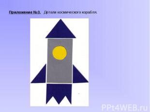 Приложение №3. Детали космического корабля. Приложение №3. Детали космического к