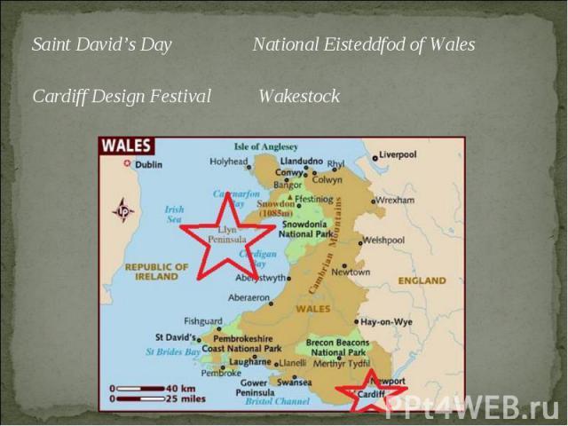 Saint David's Day National Eisteddfod of Wales Saint David's Day National Eisteddfod of Wales Cardiff Design Festival Wakestock