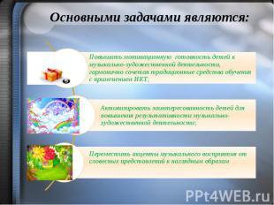 Основными задачами являются: