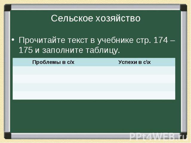 Прочитайте текст в учебнике стр. 174 – 175 и заполните таблицу. Прочитайте текст в учебнике стр. 174 – 175 и заполните таблицу.