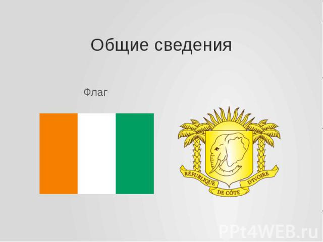 Общие сведения Флаг