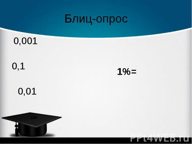 1%= 1%=