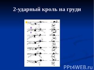 2-ударный кроль на груди