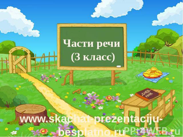 Части речи (3 класс)