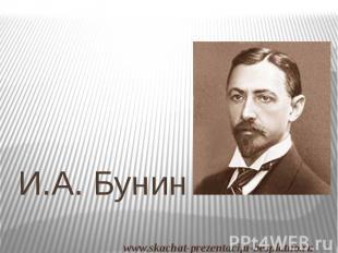 И.А. Бунин