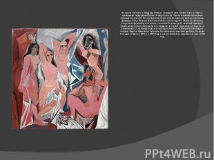 Во время обучения в Мадриде Пикассо совершил свое первое турне в Париж - признан