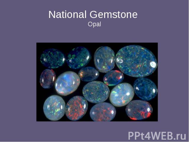 National Gemstone Opal