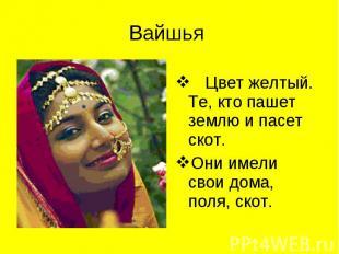 Цвет желтый. Те, кто пашет землю и пасет скот. Цвет желтый. Те, кто пашет землю