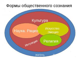 Формы общественного сознания