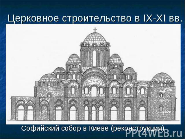 Софийский собор в Киеве (реконструкция) Софийский собор в Киеве (реконструкция)