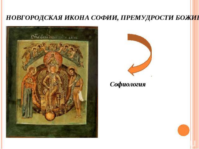 Софиология