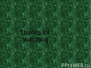 Thanks for watching Thanks for watching
