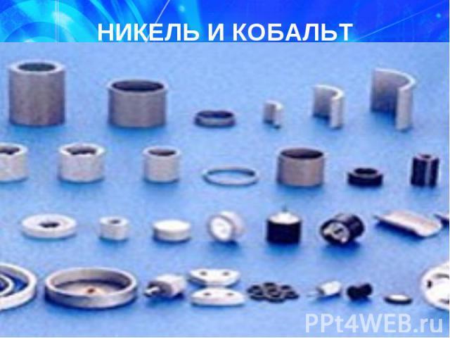 22,29 млн.т – никель (прогноз) 22,29 млн.т – никель (прогноз) Мурманская обл. (36%), Норильск (24%) Кобальт попутный компонент никеля I место по запасам никеля, III – кобальта в мире