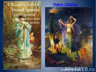 Hans Zatzka