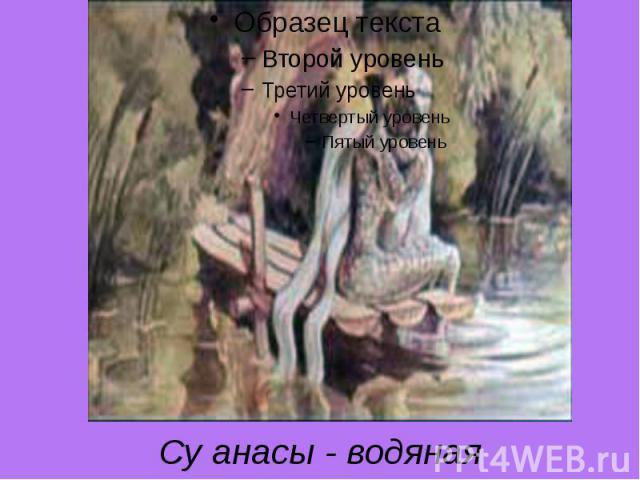Су анасы - водяная