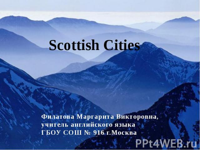 Scottish cities