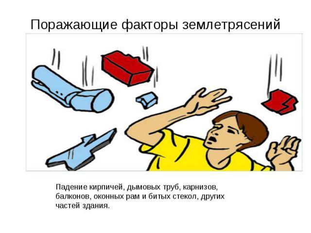 Поражающие факторы землетрясений