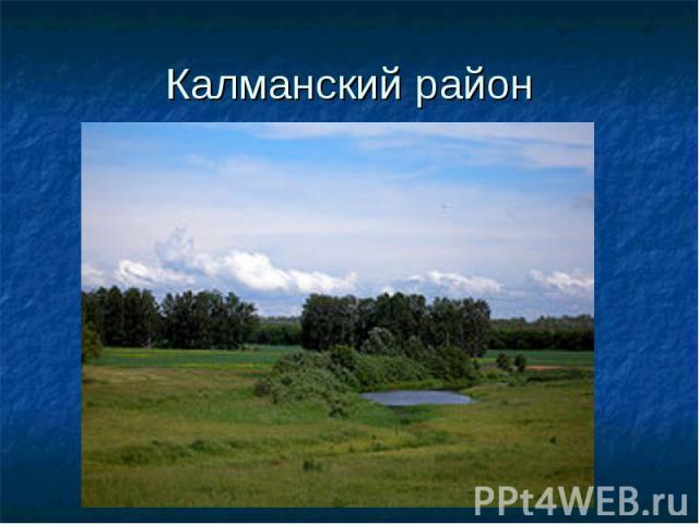Калманский район