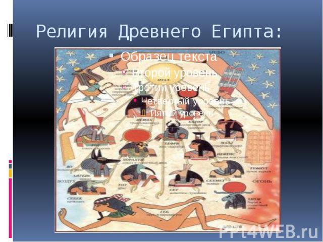 Религия Древнего Египта: